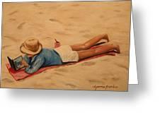 Beach Study Greeting Card