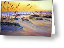 Beach Sunrise Greeting Card