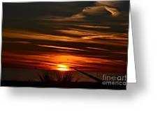 Beach Sunset Alabama Greeting Card
