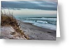 Beach Surrender Greeting Card