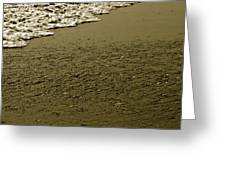 Beach Texture Greeting Card
