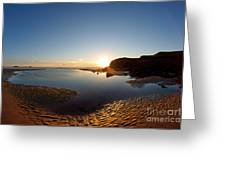 Beach Textures Greeting Card