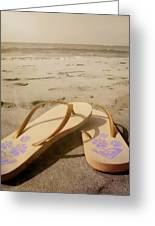 Beach Therapy Greeting Card