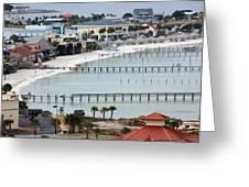 Beach Town Greeting Card
