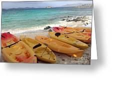 Beach Toys Greeting Card