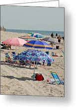 Beach Umbrella 27 Greeting Card