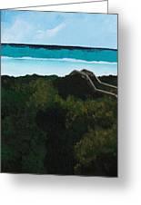 Beach Walkover Greeting Card
