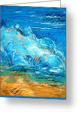 Beach Wave IIi Greeting Card