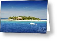 Beachcomber Island Greeting Card