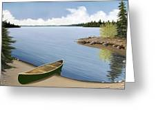 Beached In Ontario Greeting Card
