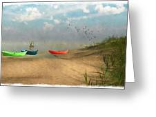 Beached... Greeting Card