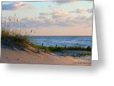 Beaches Of Outer Banks Nc Greeting Card