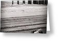 Beachfront Home Greeting Card