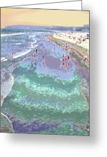 Beachgoers 2 Greeting Card