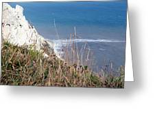 Beachy Head Sussex Greeting Card