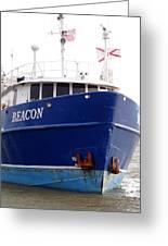 Beacon Aground Greeting Card