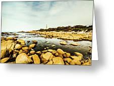 Beacon Beach Greeting Card