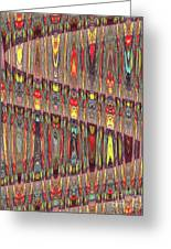 Beaded Curtain Greeting Card