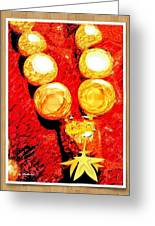 Beads And Baubles Greeting Card