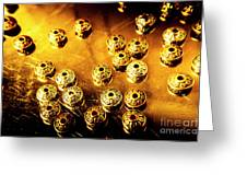 Beads From Another Universe Greeting Card