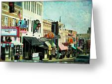 Beale Street Blues Greeting Card