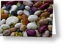 Beans Of Many Colors Greeting Card