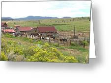Bear Basin Ranch Greeting Card