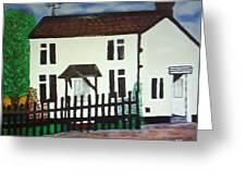 Bear Cottage Greeting Card