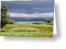 Bear Lake From Us 89 Greeting Card