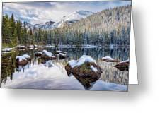 Bear Lake Holiday Greeting Card