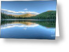 Bear Lake In Rocky Mountain National Park 2x1 Greeting Card
