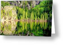 Bear Lake Greeting Card