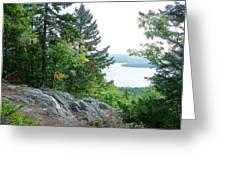 Bear Mountain Greeting Card