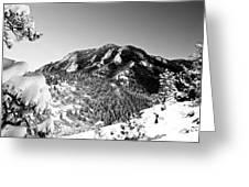 Bear Peak Greeting Card