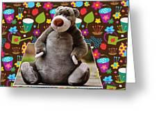 Bear Playtime Greeting Card