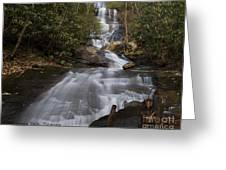 Bearden Falls Greeting Card
