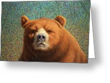 Bearish Greeting Card