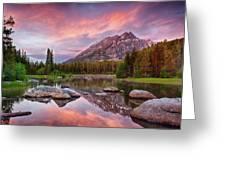 Bearpaw Lake  Greeting Card