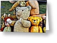 Bears For Sale Greeting Card