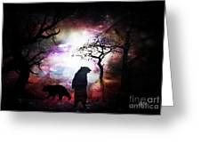 Bears Night Out Greeting Card