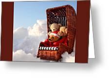 Bears Winter Holidays Greeting Card