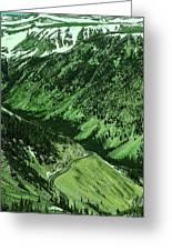 Beartooth Highway Greeting Card