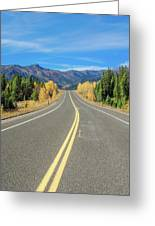 Beartooth Mountain Road Greeting Card
