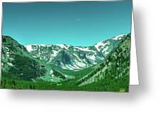 Beartooth Mountains Greeting Card