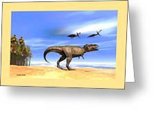 Beast Greeting Card