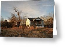 Beat Up Old House Greeting Card