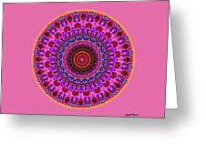 Beatitude No. 4 Mandala Greeting Card