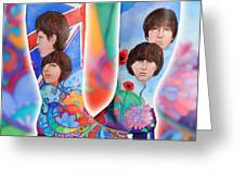 Beatle Boots Greeting Card