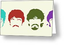 Beatles Greeting Card by Elizabeth Coats