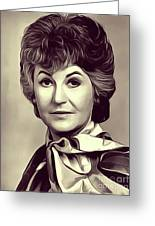 Beatrice Arthur, Vintage Actress Greeting Card